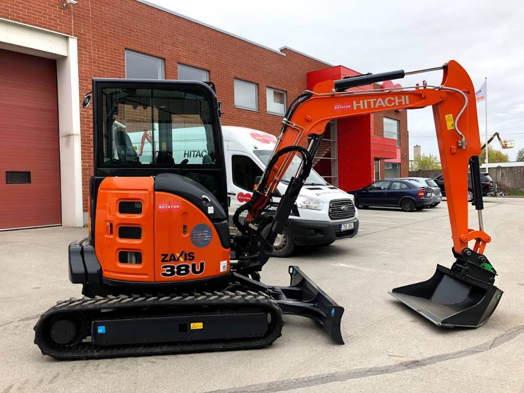 Hitachi ZX 38 U-5A, Mini excavators < 7t (Mini diggers), Construction