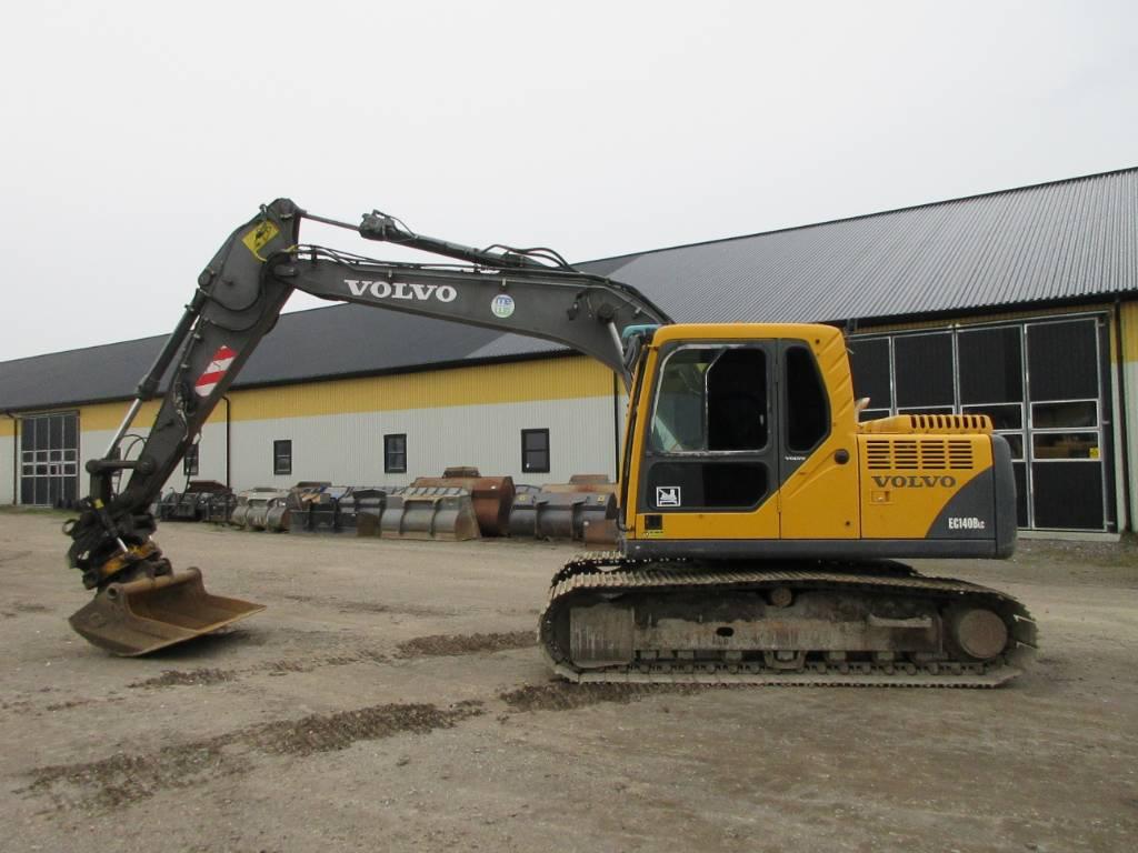 Volvo EC140 BLC grävmaskin, rototilt, Bandgrävare, Entreprenad