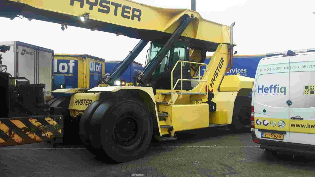 Hyster RS45-28IH, Reach Stackers, Material Handling