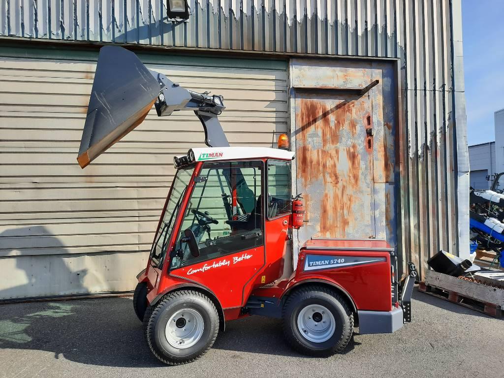 Timan Tool Track 5740, Redskapsbärare, Grönytemaskiner