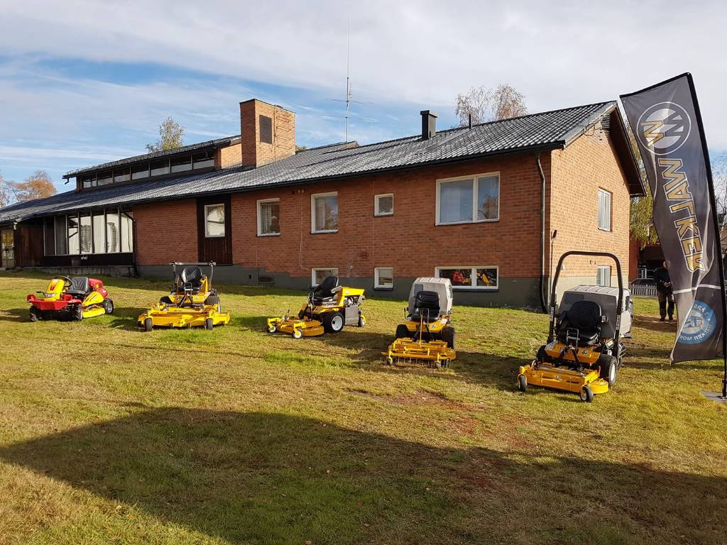 Walker gräsklippare, spakstyrda, Åkgräsklippare, Grönytemaskiner
