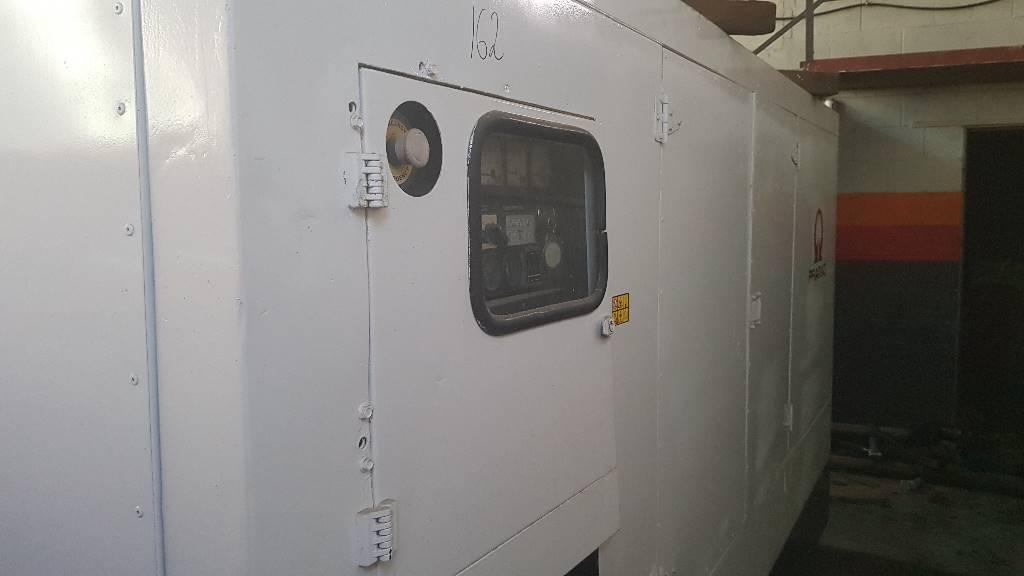 Pramac GSW 200, Generadores diesel, Construcción