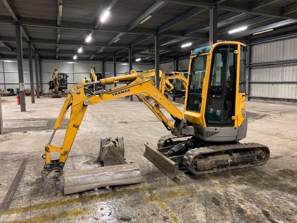 Yanmar VIO25, Mini excavators < 7t (Mini diggers), Construction
