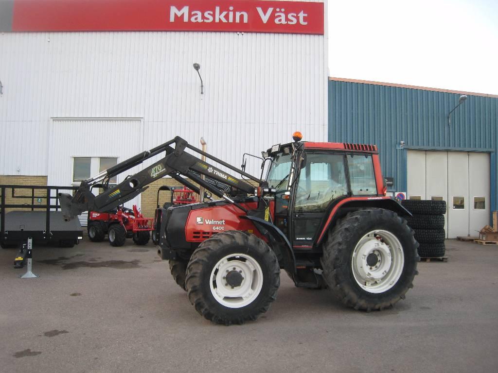 Valmet 6400 med lastare, Traktorer, Lantbruk