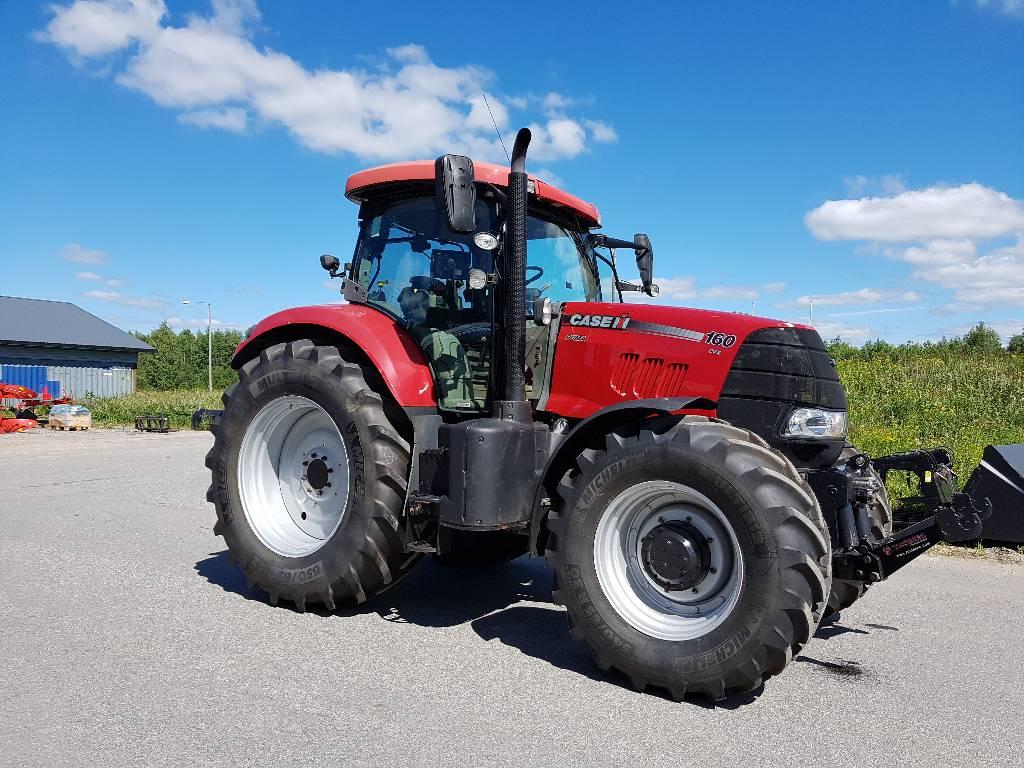 Case IH 160 CVX, Traktorit, Maatalous