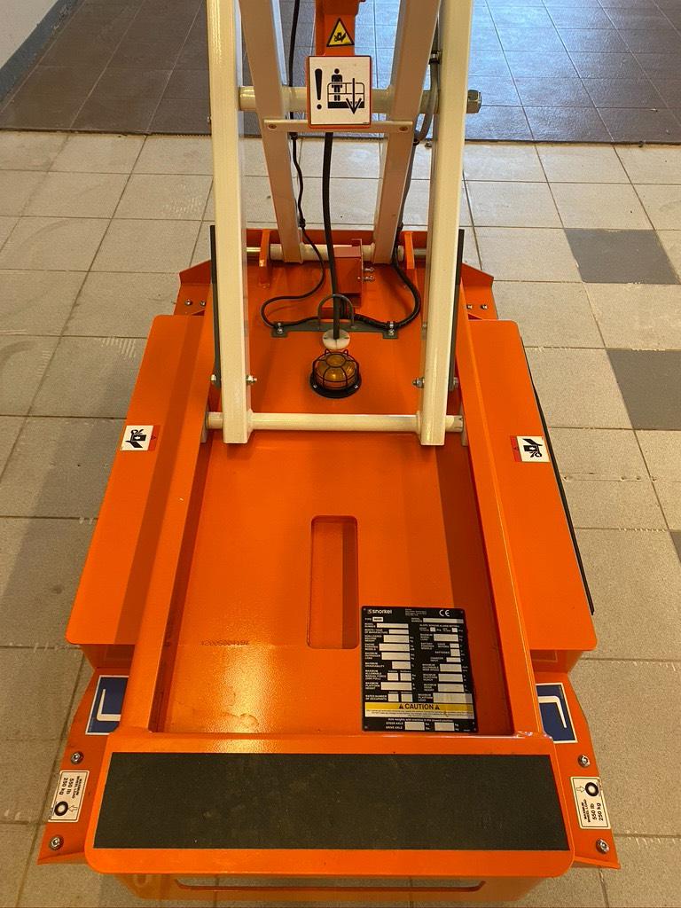 Snorkel S3010E, Saksilavat, Maarakennus