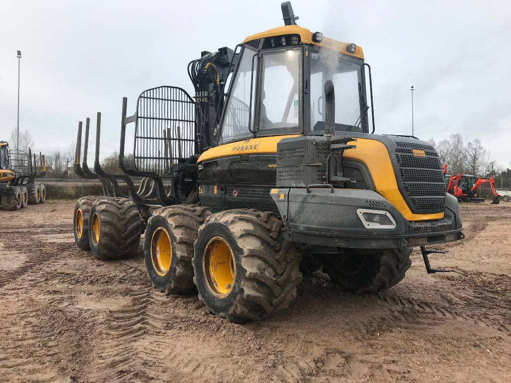 Ponsse Wisent 8W, Forwarders, Forestry