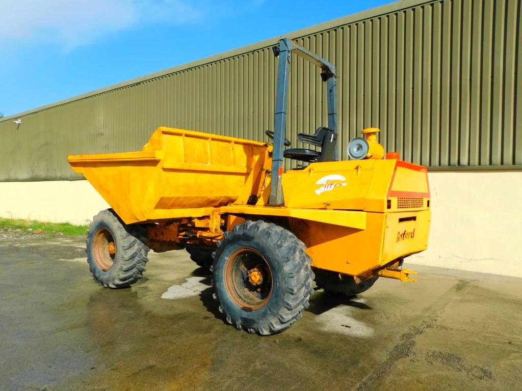 Benford 6 ton dumper, Site dumpers, Construction