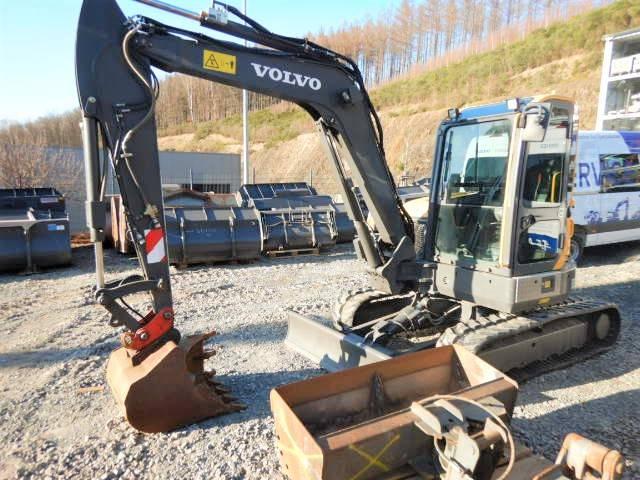 Volvo ECR 58 D, Mini Excavators <7t (Mini Diggers), Construction Equipment