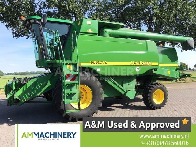 John Deere 9660 WTS Combine, Maaidorsmachines, Landbouw