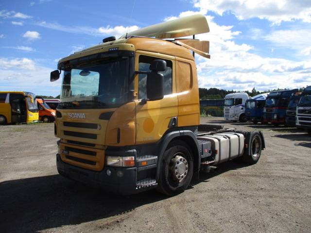 Scania P 320, Conventional Trucks / Tractor Trucks, Trucks and Trailers