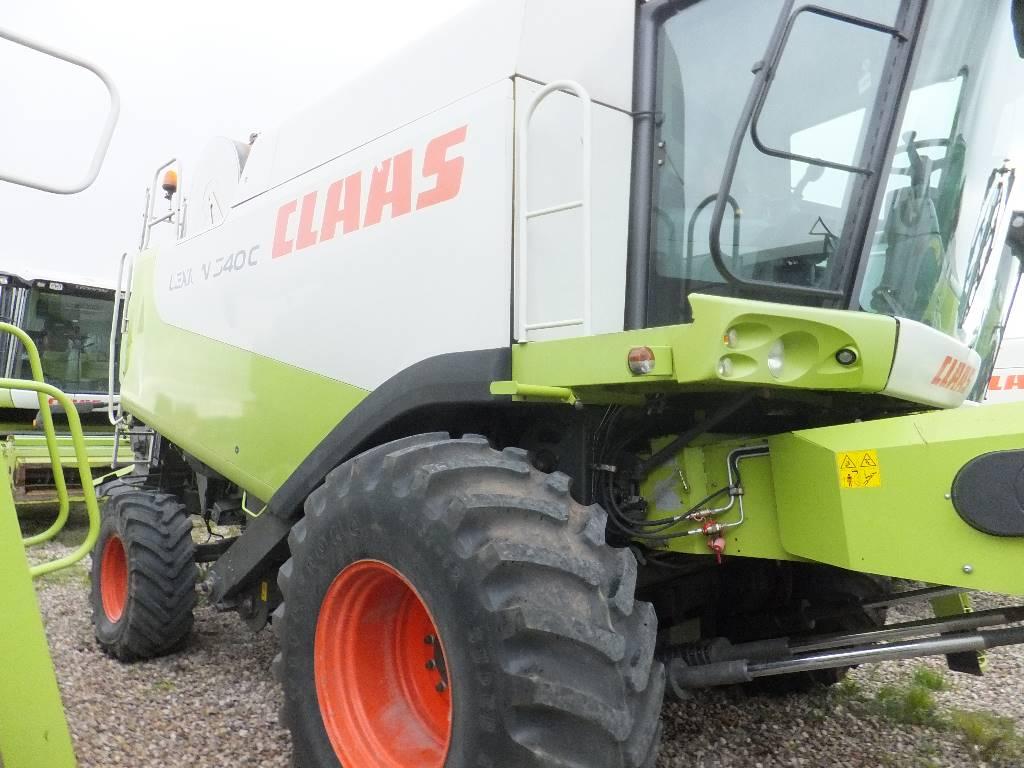 CLAAS Lexion 540 C, Derliaus nuėmimo kombainai, Žemės ūkis