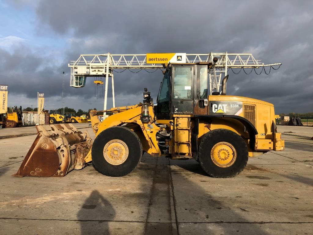 Caterpillar 938 H, Wheel loaders, Construction
