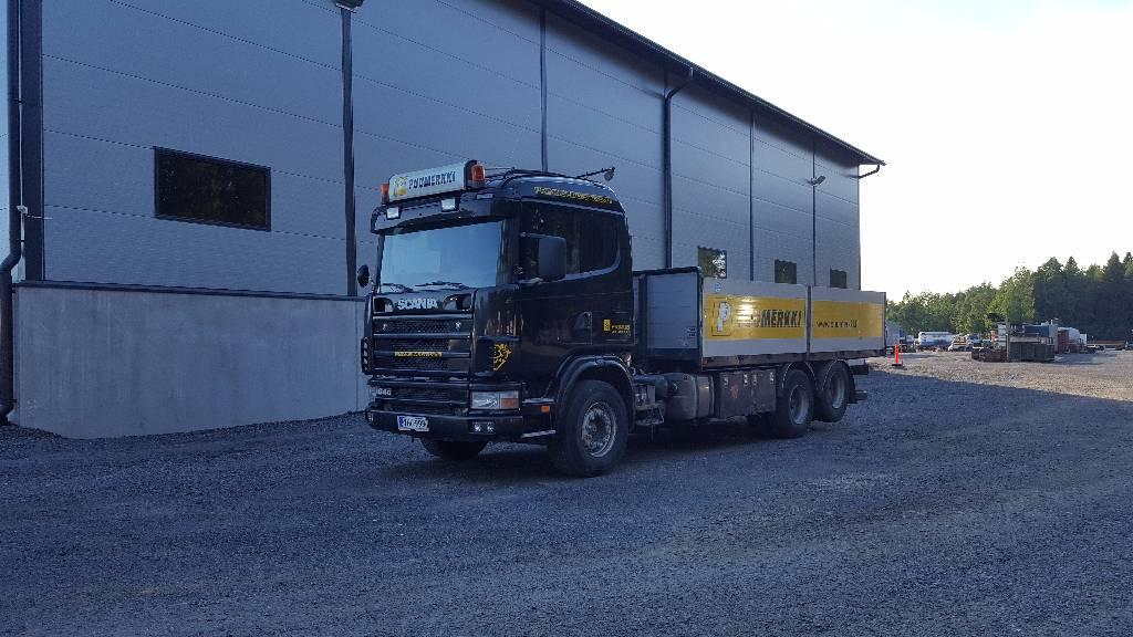 Scania R 164-480, Lava-kuorma-autot, Kuljetuskalusto