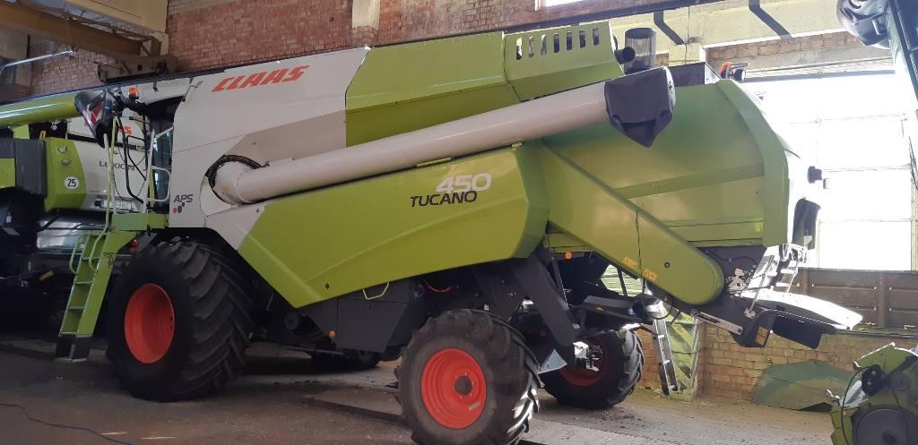 CLAAS Tucano 450, Derliaus nuėmimo kombainai, Žemės ūkis