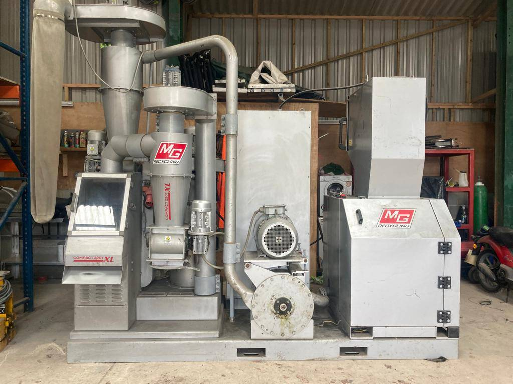 MG recycling compact 220 xl, Waste sorting equipment, Construction