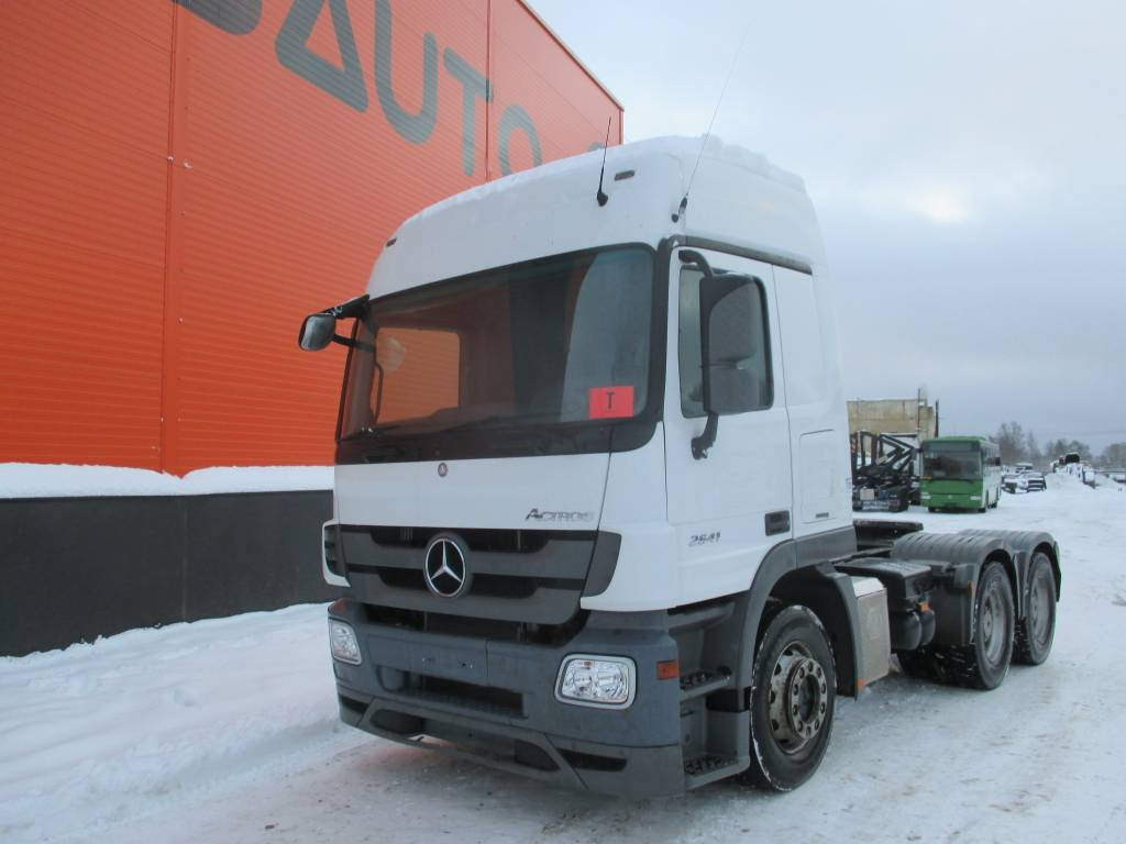 [Other] MERCERES-BENZ ACTROS 2641/ 6X4 / HYDRAULICS, Conventional Trucks / Tractor Trucks, Trucks and Trailers