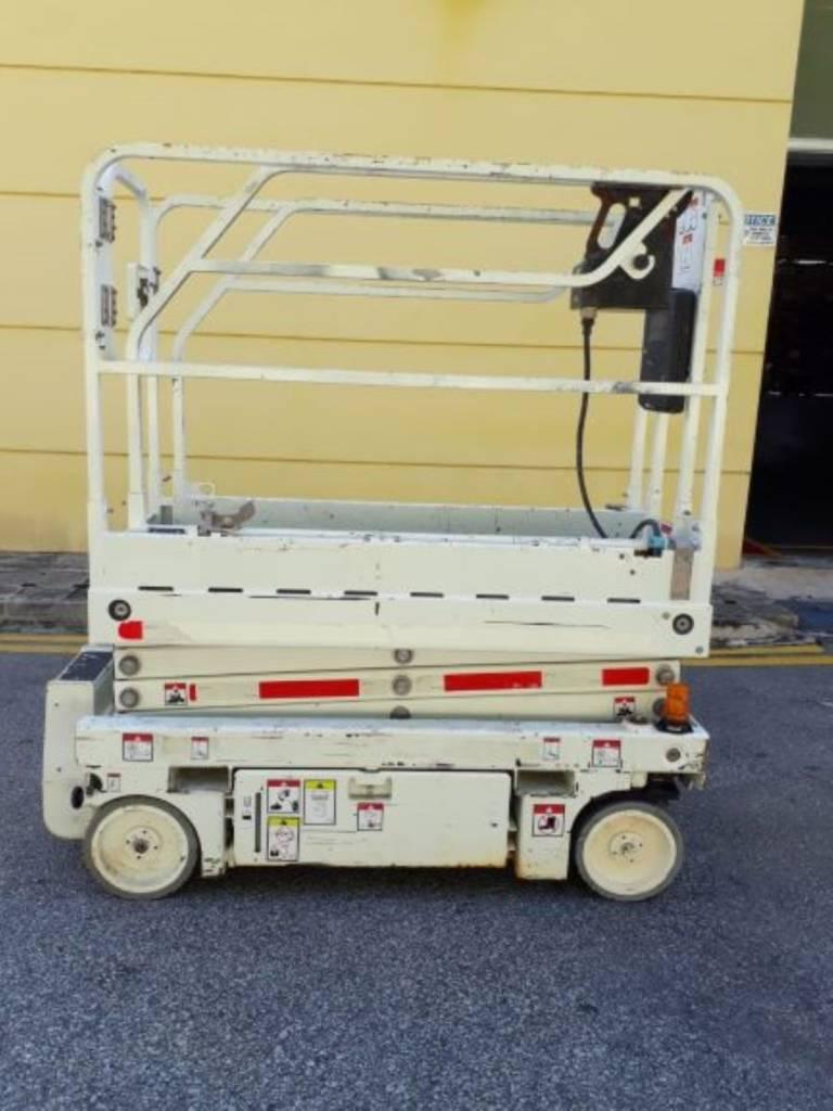 Haulotte Optimum 8, Scissor Lifts, Construction Equipment