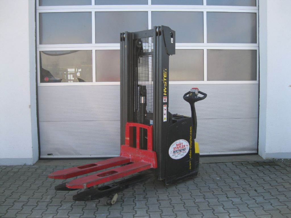 Hyster S 1.6IL AC, Pedestrian stacker, Material Handling