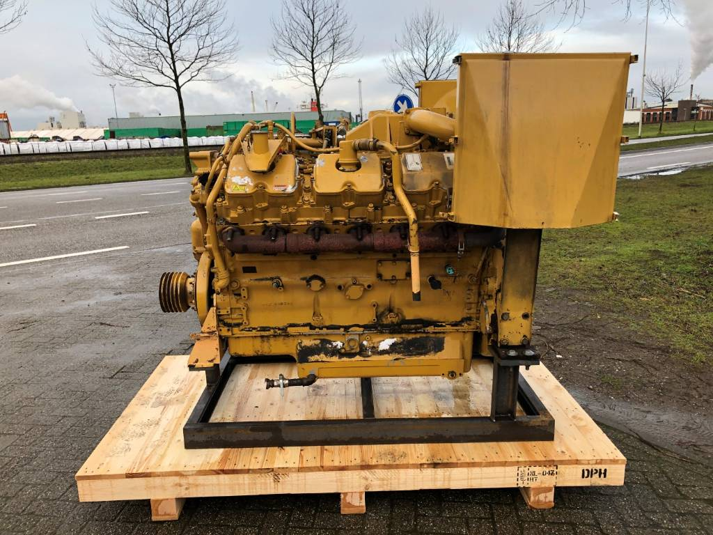 Caterpillar 3412 E - Locomotive Engine - 567 kW - BDT, Industrial Applications, Construction