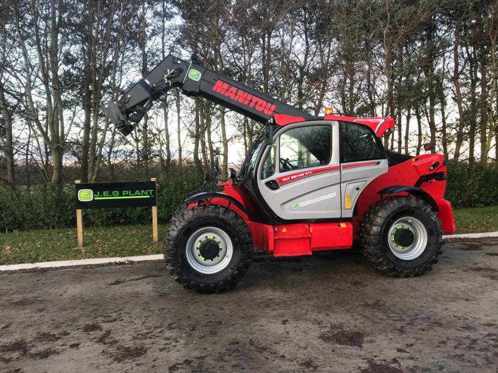 Manitou MLT 961, Telehandlers for agriculture, Agriculture