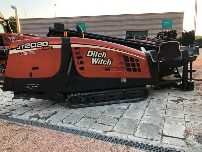 Ditch Witch JT 2020 Mach 1, Perforazione direzionale / T.O.C., Costruzioni