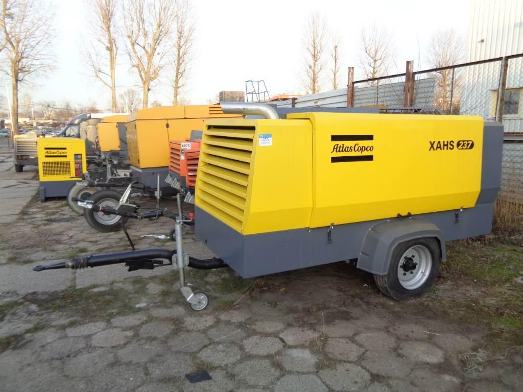 Atlas Copco XAHS 237, Compressors, Construction