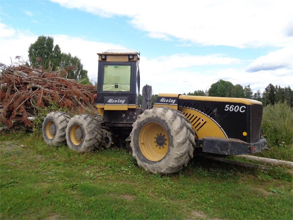Eco Log 560C, Skördare, Skogsmaskiner