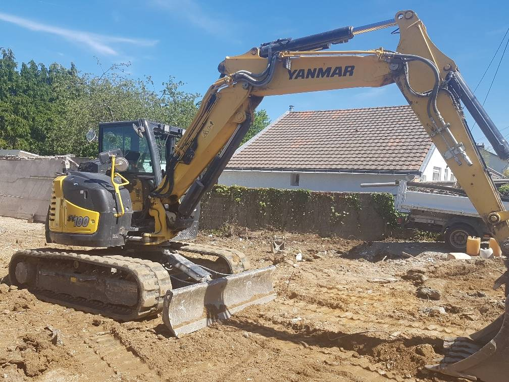 Yanmar SV100-2PB, Midi excavators  7t - 12t, Construction