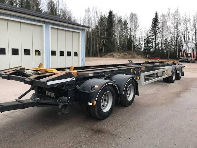 Jyki 4 axl Lastväxlarvagn/Lastväxlarsläp, Lastväxlarsläp, Transportfordon