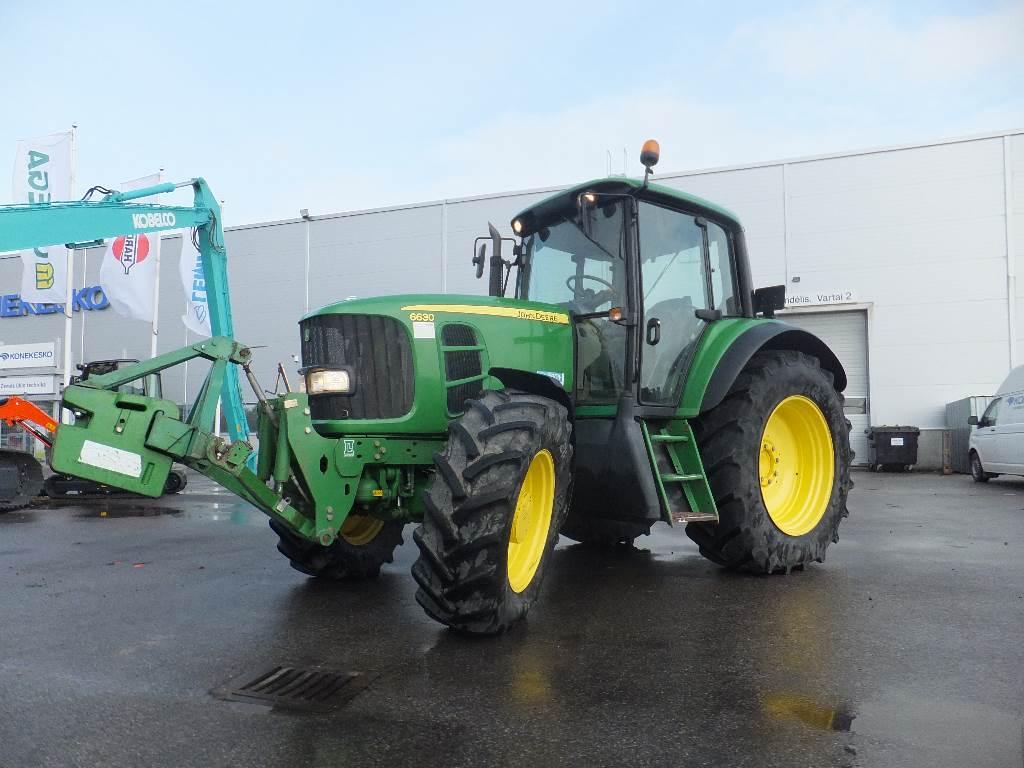 John Deere 6630 TLS, Traktoriai, Žemės ūkis