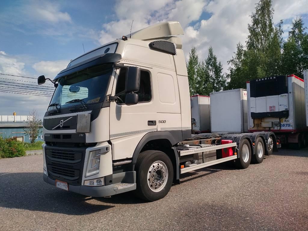 Volvo FM500 8x4 tridem alusta, Kuorma-autoalustat, Kuljetuskalusto