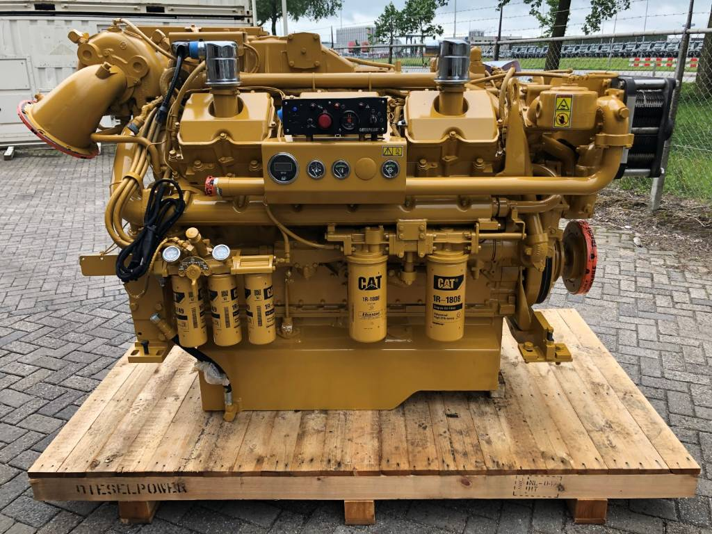 Caterpillar - Rebuild - 3412 E - Marine Propulsion - 448 kW - 9PW, Marine Applications, Construction