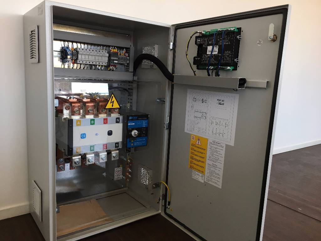 ATS Panel 630A - Max 435 kVA - DPX-27508, Anders, Bouw