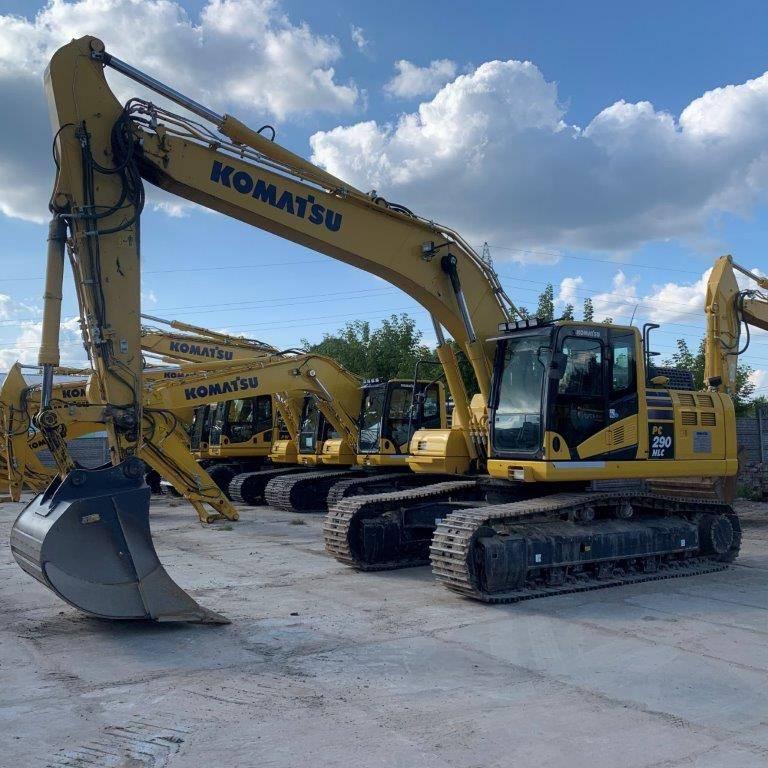 Komatsu PC290NLC-11, Crawler Excavators, Construction Equipment