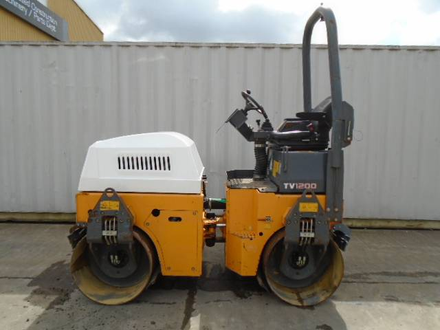 Benford TV 1200, Twin drum rollers, Construction