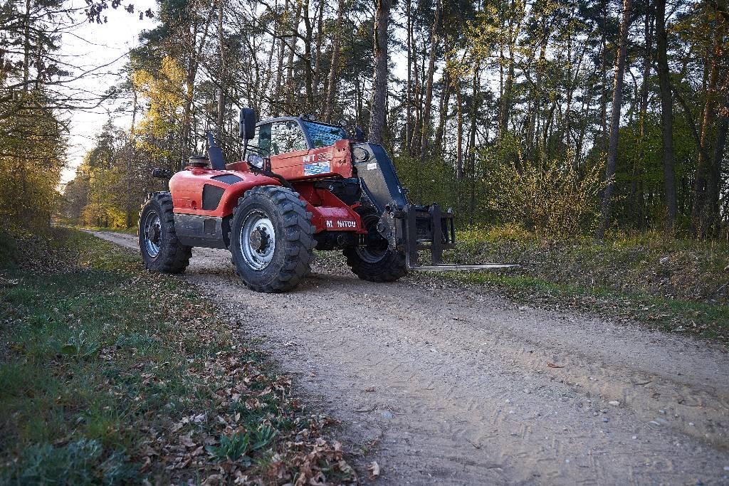 Manitou MT 732, Ładowarki rolnicze, Maszyny rolnicze