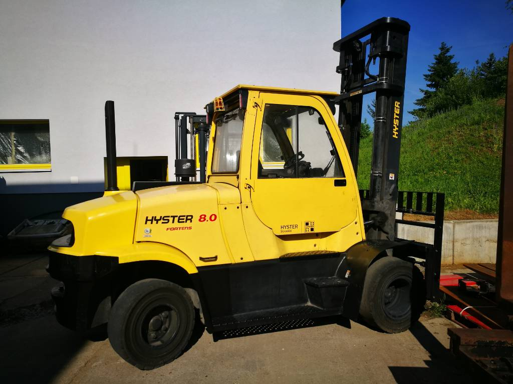 Hyster H8.0FT6 D, Diesel counterbalance Forklifts, Material Handling