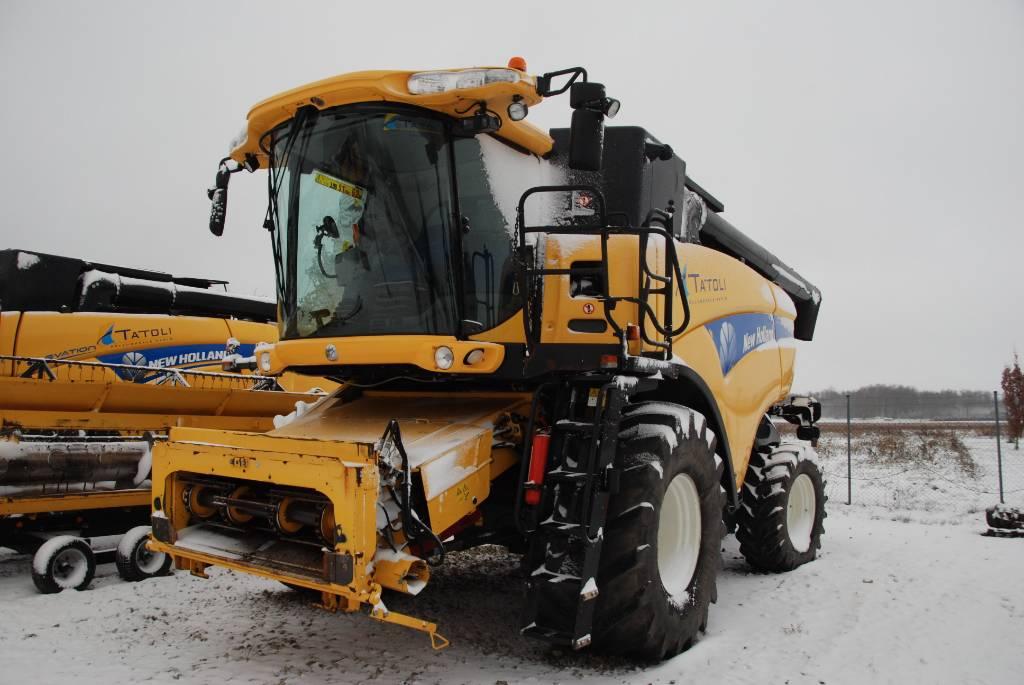 New Holland CX 8080, Leikkuupuimurit, Maatalouskoneet