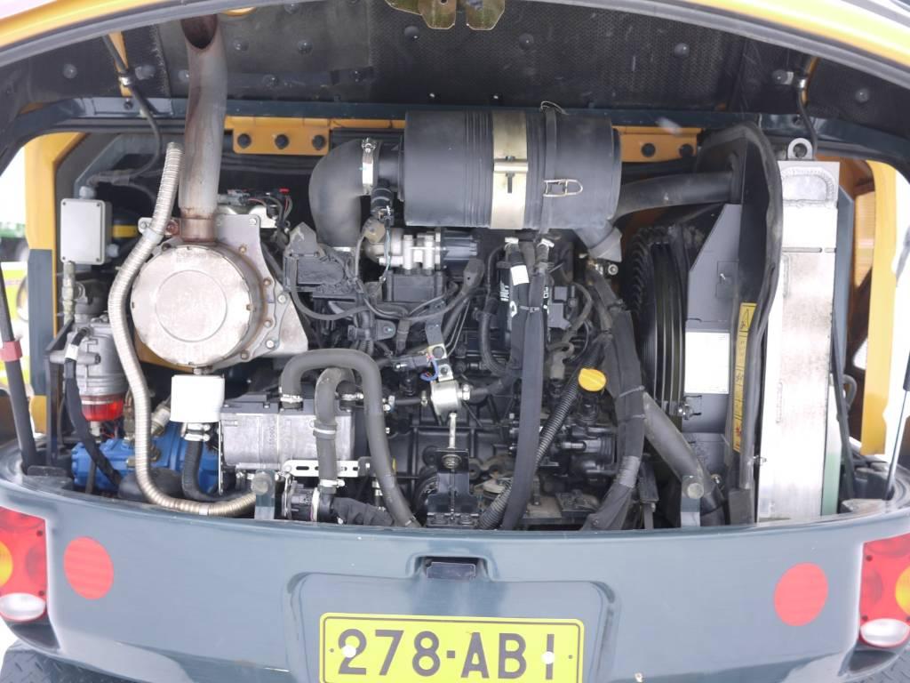 Hyundai R 55W-9A, Pyöräkaivukoneet, Maarakennus