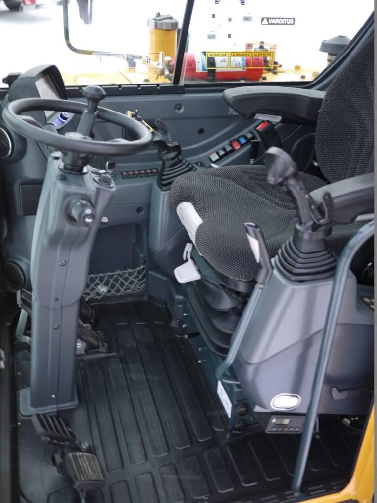 Hyundai R 55W-9A HUIPPUVARUSTEET, Pyöräkaivukoneet, Maarakennus