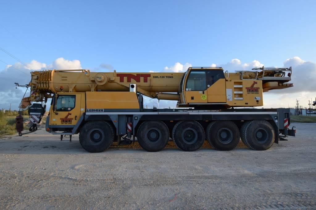 Liebherr LTM 1100-5.1, All Terrain Cranes and Hydraulic Truck Cranes, Construction Equipment