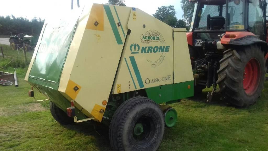Krone KR 125, Prasy zwijające, Maszyny rolnicze