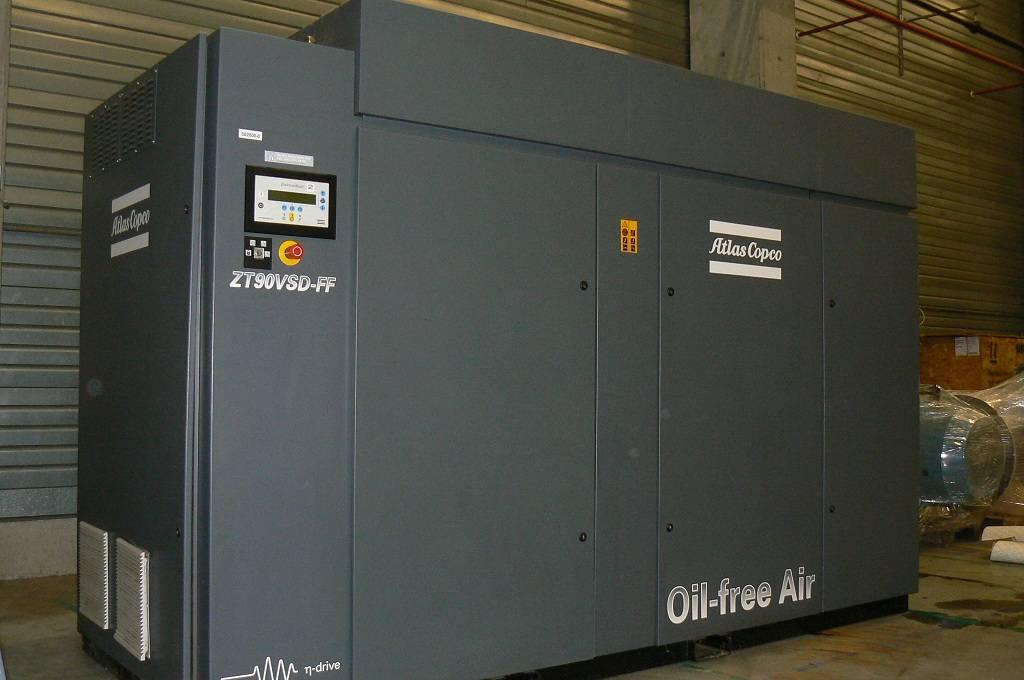Atlas Copco ZT 90 VSD FF, Compressors, Industrial