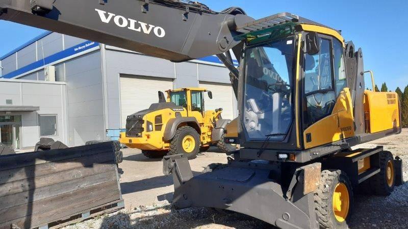 Volvo EW230C, Wheeled Excavators, Construction Equipment