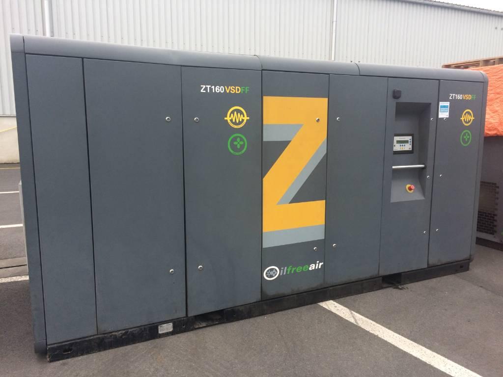 Atlas Copco ZT 160 VSD FF, Compressors, Industrial