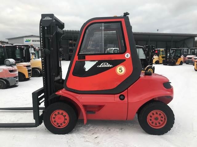 Linde H40D-04, Dieseltrukit, Materiaalinkäsittely
