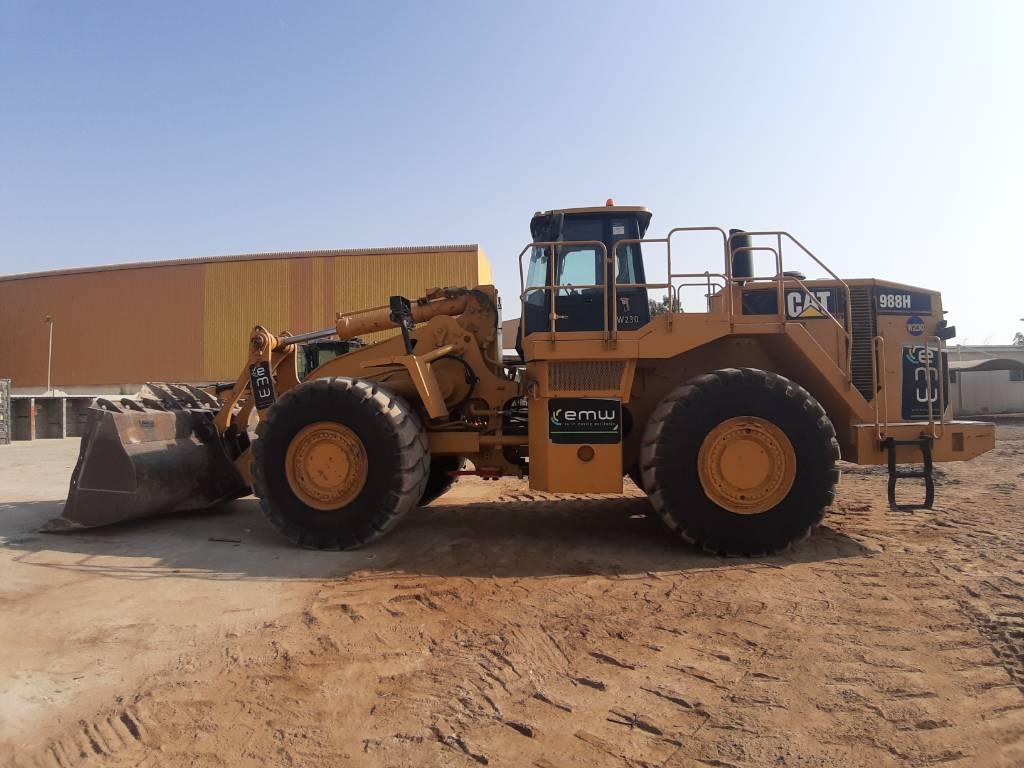 Caterpillar 988H  (2 pieces), Wheel loaders, Construction