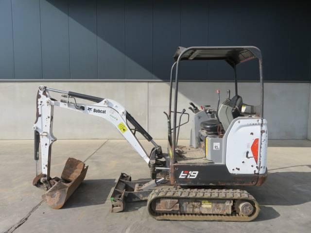 Bobcat E 19, Minibagger < 7t, Baumaschinen
