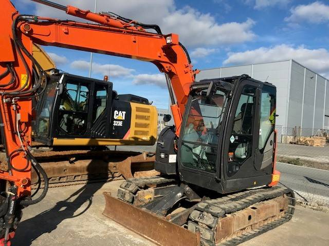 Hitachi ZX 85 US-5, Mini excavators  7t - 12t, Construction Equipment